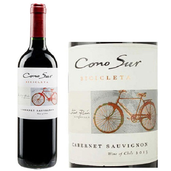 Rượu vang Chile Cono Sur Bicicleta Cabernet Sauvignon Tinto giá tốt nhất