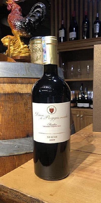 Rượu vang Duca Di Poggioreale Syrah 2009 giá tốt nhất