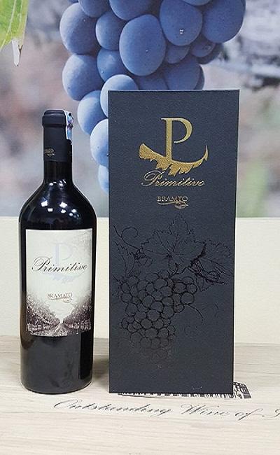 Rượu vang Ý P Primitivo Bramato 18 độ