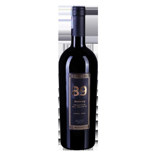 Vang Ý 89 Anniversary Primitivo Del Salento 16 độ