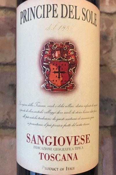 Vang Ý Principe Del Sole Sangiovese Toscana 2013 giá tốt nhất Hà Nội
