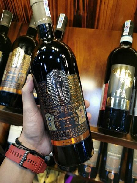 Rượu vang Ý Pharaoh Limited giá tốt nhất tại Hà Nội