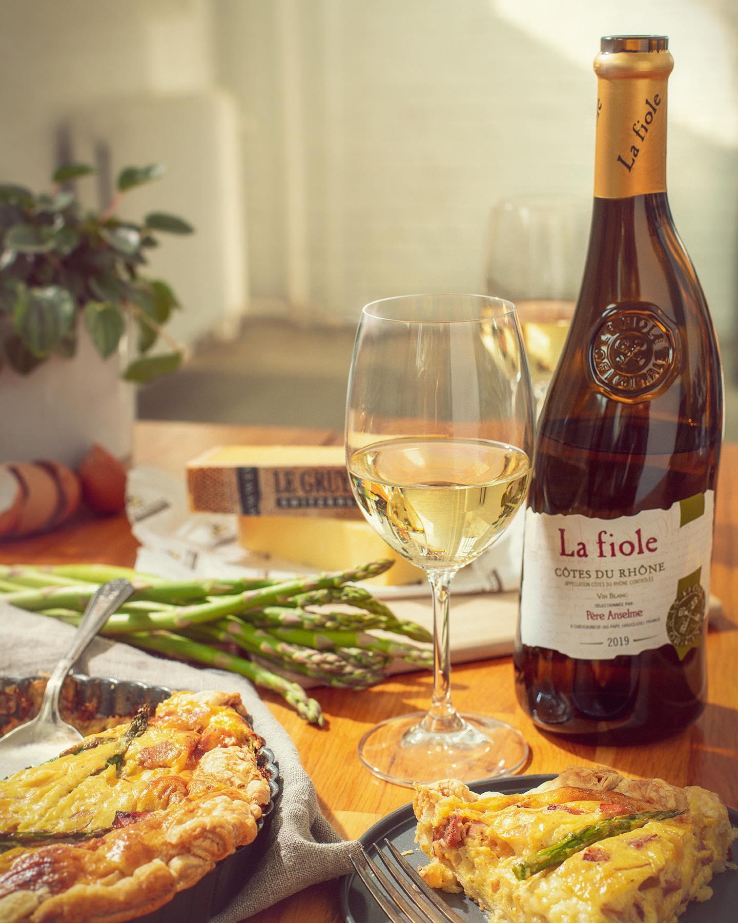vang pháp La Fiole Cotes Du Rhone Vin Blanc