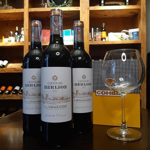 Vang Pháp Chateau Berlioz Languedoc giá tốt nhất tại Hà Nội