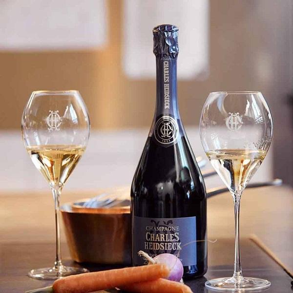 Champagne Charles Heidsieck Brut Reserve nổi tiếng Pháp
