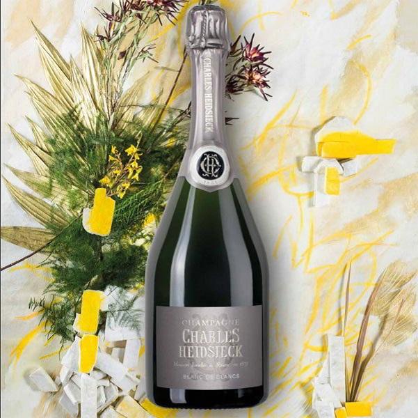 Rượu Champagne Charles Heidsieck Blanc de Blancs giá tốt HCM
