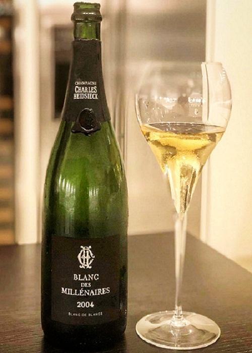 Rượu Champagne Charles Heidsieck Blanc Des Millenaires 2004 giá tốt nhất