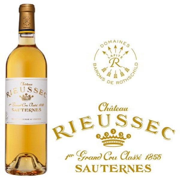 Rượu vang trắng ngọt Chateau Rieusec Sauternes