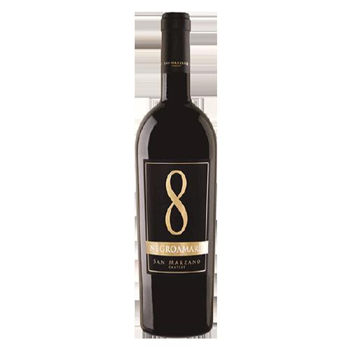 Rượu vang Ý 8 Negroamaro San Marzano