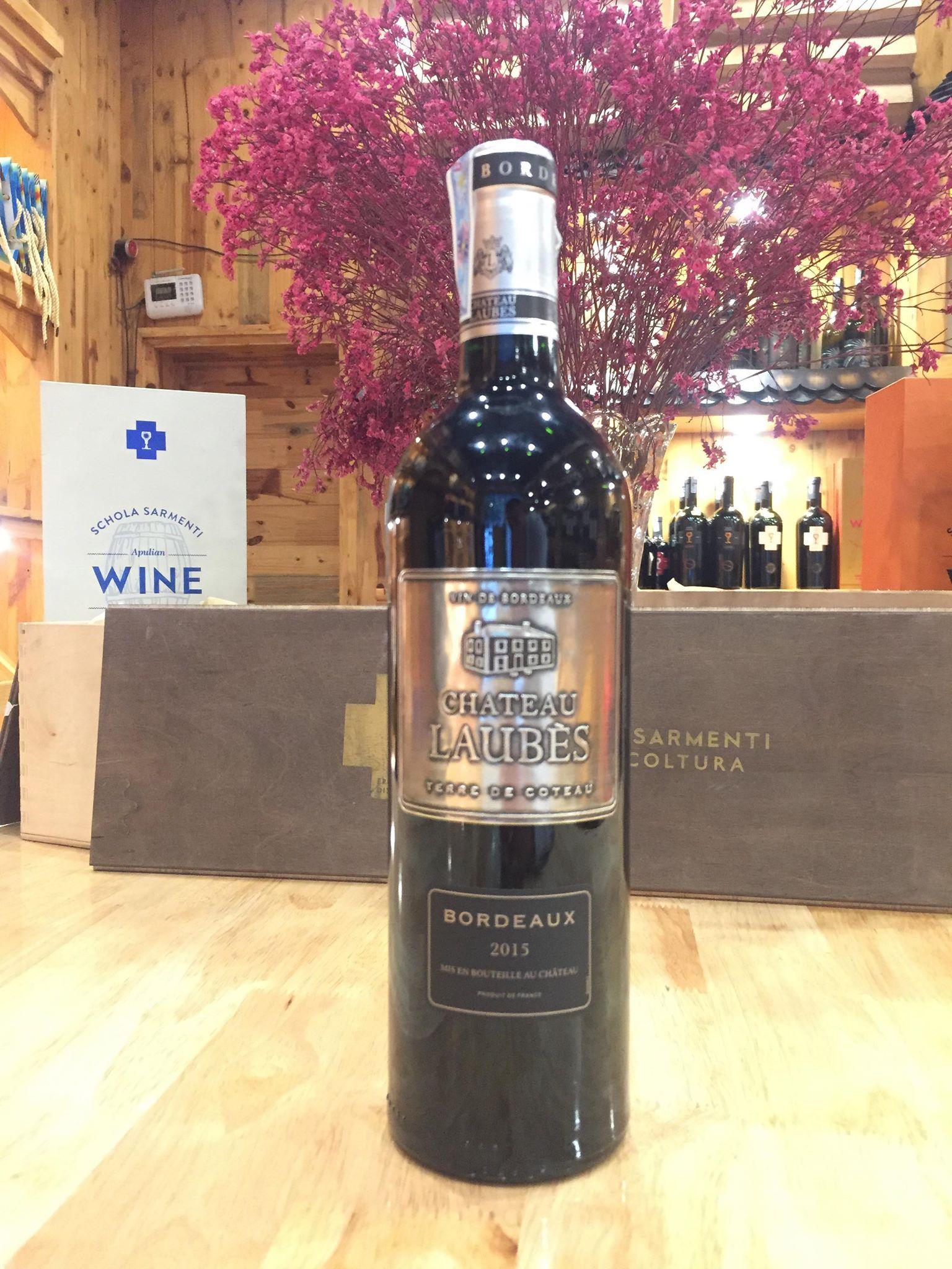 Rượu vang Pháp Laubes