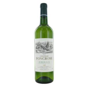 Rượu vang Pháp Chateau Foncrose White