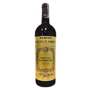Rượu vang Vanitá Primitivo di Manduria Vendemmia