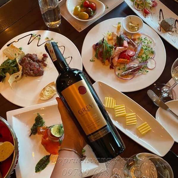 Rượu vang Chile Ventisquero Grey Ultra
