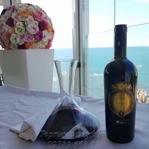 Rượu vang Ý Jesu Primitivo Di Manduria 18,5 độ