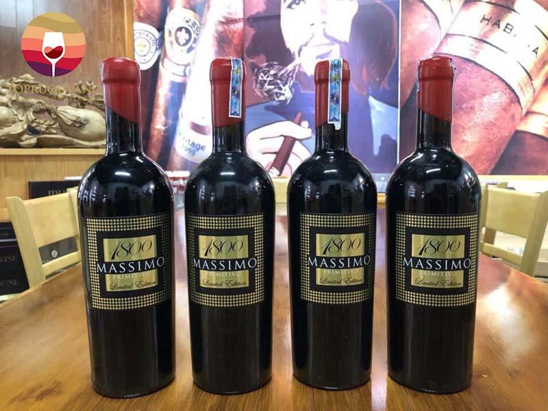 Rượu vang Massimo 1800 Limited Edition 18 độ