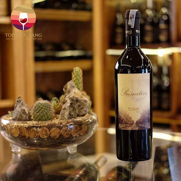 Rượu vang P Bramato Primitivo 18 độ