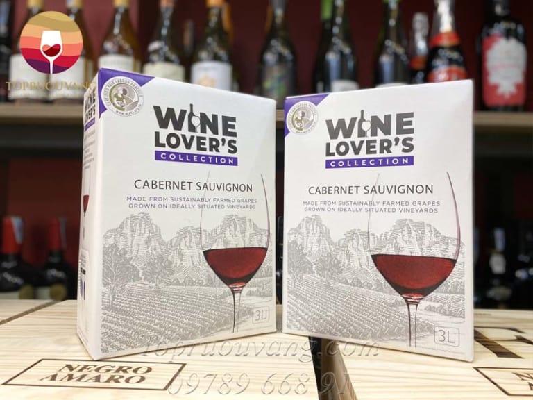 rượu vang bịch wine love