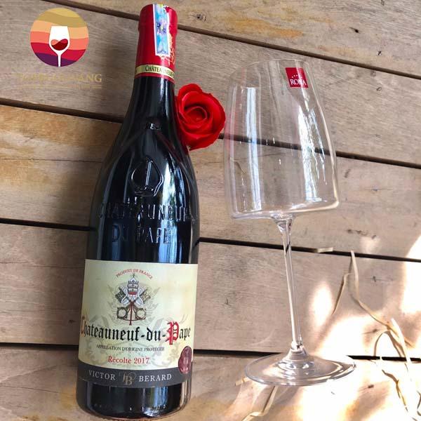 ruou-vang-phap-Victor-Bernard-Chateauneuf-Du-Pape-1