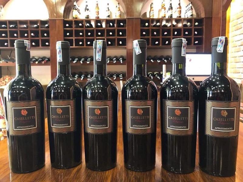 Rượu vang Ý Caselletti nhập khẩu chính hãng giá rẻ tại Hà Nội