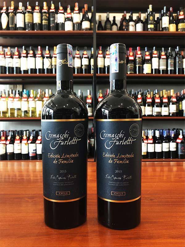 Vang Chile Cremaschi Furlotti Limited Edition de Familia giá tốt